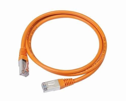 Gembird Patch kabel RJ45, cat. 5e, UTP, 0.5m, oranžový