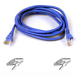 Belkin kabel PATCH UTP CAT6 10m modrý, bulk Snagless