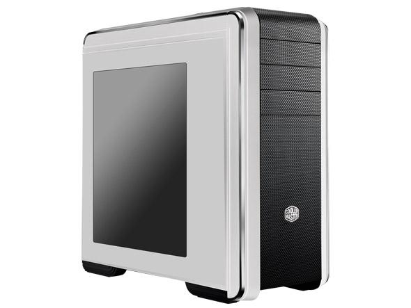 case Cooler Master miditower CM-693, ATX,černý průhledný bok, USB3.0, bez zdroje