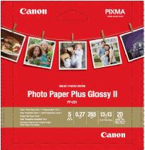 Canon fotopapír PP-201 - Square 13x13cm (5x5inch) - 275g/m2 - 20 listů - lesklý