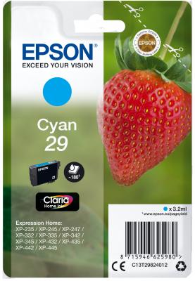 Epson Singlepack Cyan 29 Claria Home Ink