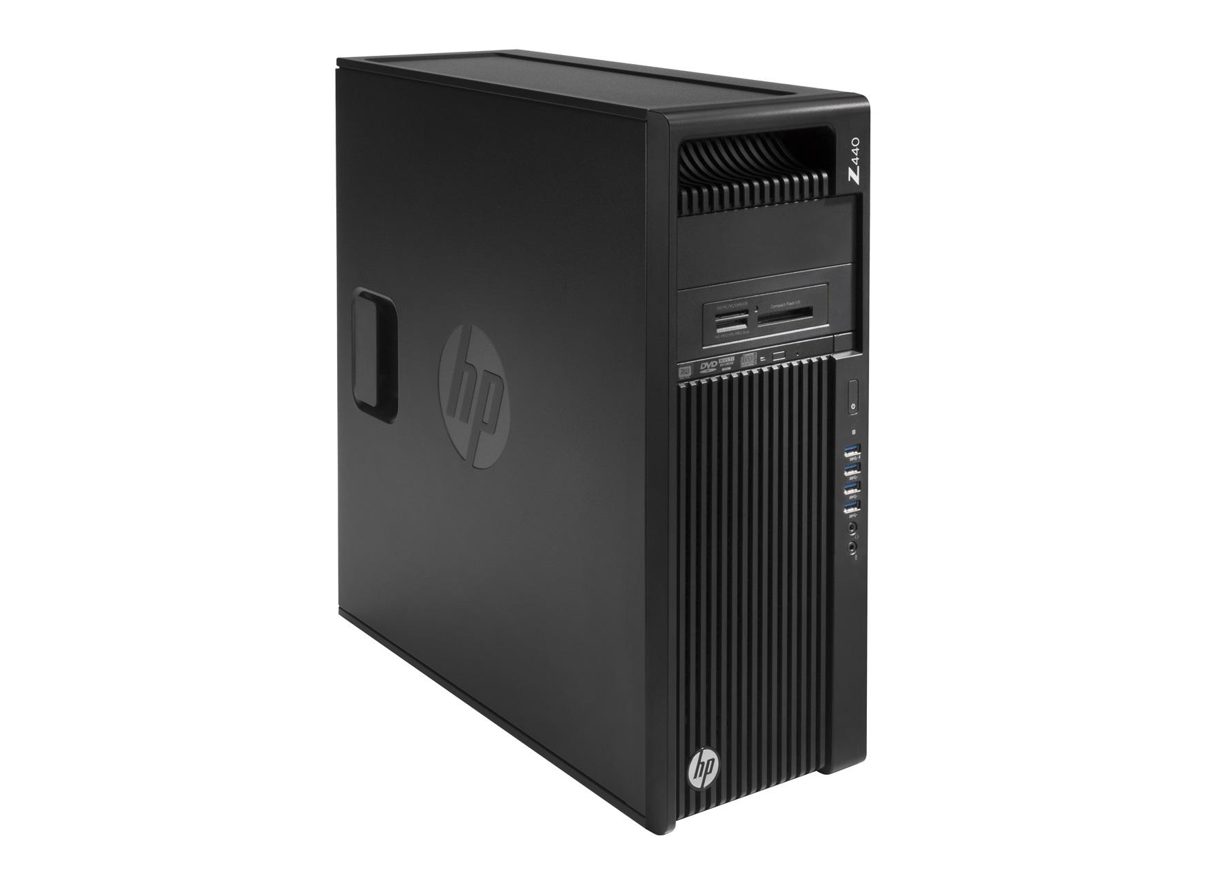 HP Z440 Xeon E5-1650v4 6c, 512B G2 Pcie, 2x8GB DDR4 ECC,DVDRW,no VGA,no keyb, mouse, MCR, Win10Pro