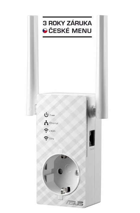 ASUS RP-AC53, Dvoupásmový AC750 Wi-Fi Repeater