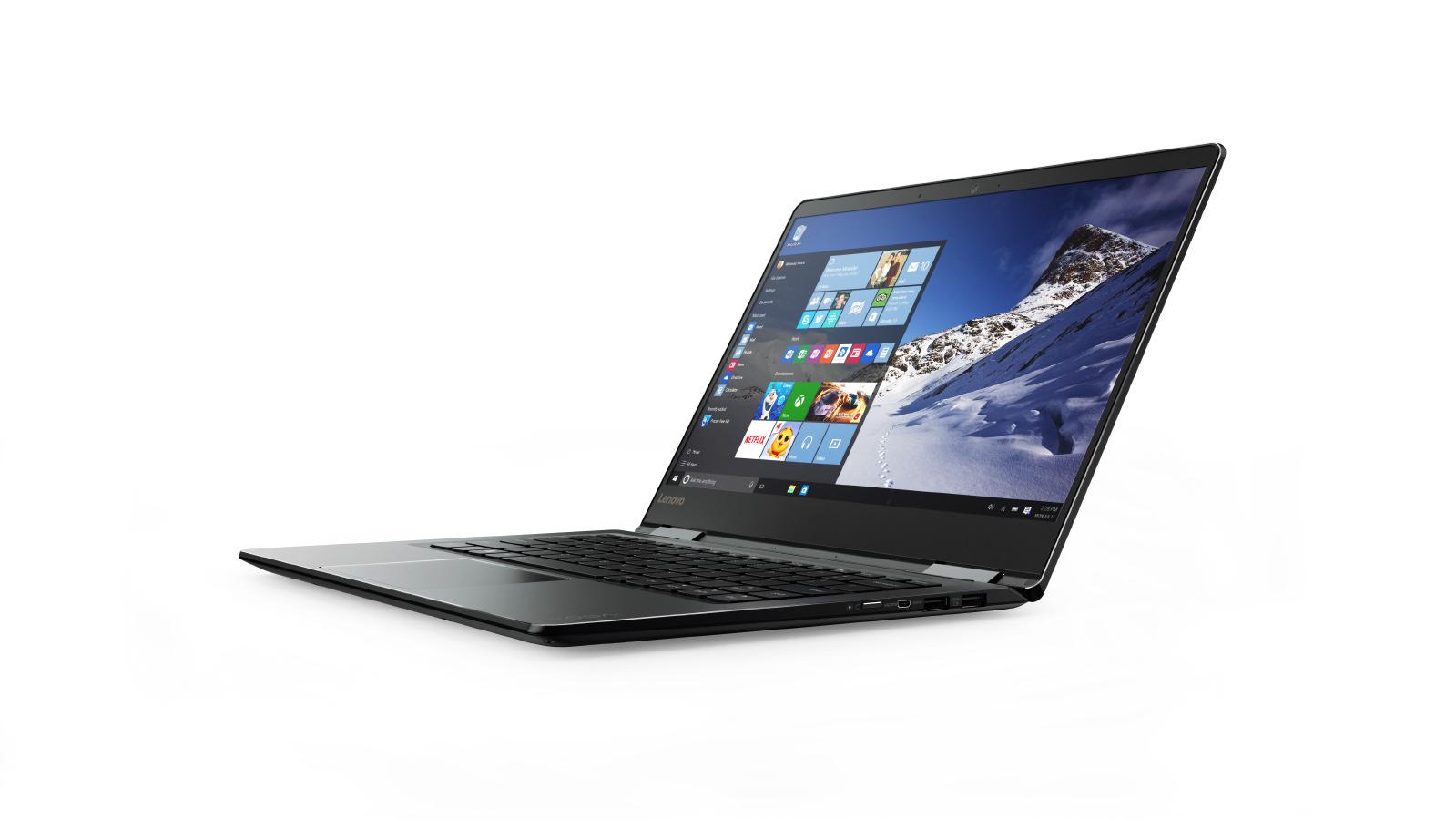 """Lenovo YOGA 710-14IKB i5-7200U 3,10GHz/8GB/SSD 256GB/14"""" FHD/IPS/multitouch/GeForce 2GB/WIN10 černá 80V4007MCK"""