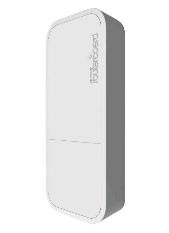 MikroTik RouterBOARD wAP ac, white, 720MHz CPU, 64MB RAM, 1x LAN, integr. 2.4+5GHz Wi-Fi, MIMO, 2dBi anténa, vč. L4