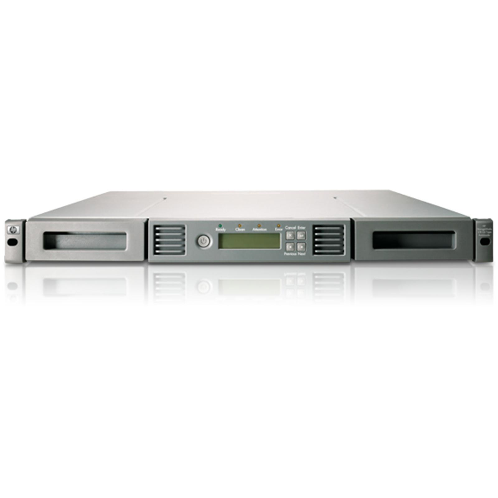 HPE StoreEver 1/8 G2 LTO-7 SAS Autoloader (N7P35A) + 8x HPE StoreEver 1/8 G2 LTO-7 SAS Autoloader (C7977A)