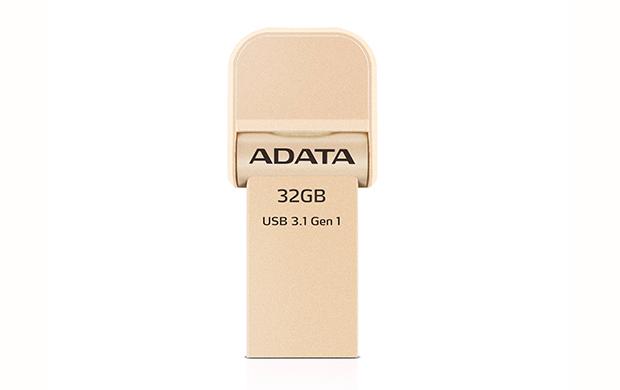 ADATA i-Memory Flash Drive 32GB AI920, zlatá
