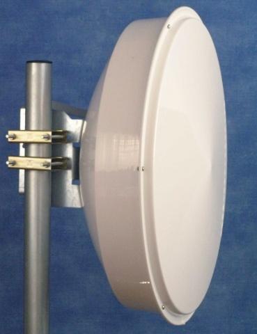 Jirous JRE-34EX UPB [Duplexní směrová parabola s límcem 34dBi k UBNT PowerBridgeM10 (2pack)]