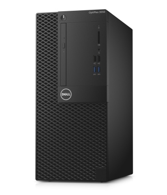 Dell PC Optiplex 3050 MT i3-7100/4G/500GB/DP/HDMI/DVD RW/W10P/3RNBD/Černý
