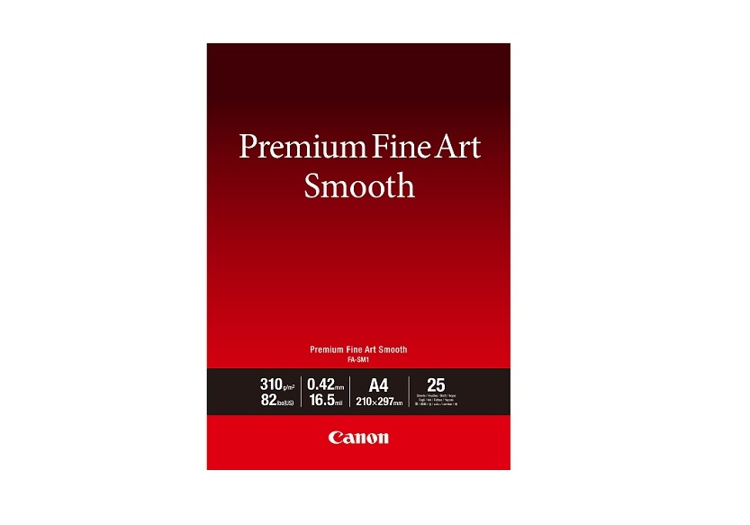 Canon fotopapír Premium FineArt Smooth A4 25 sheets
