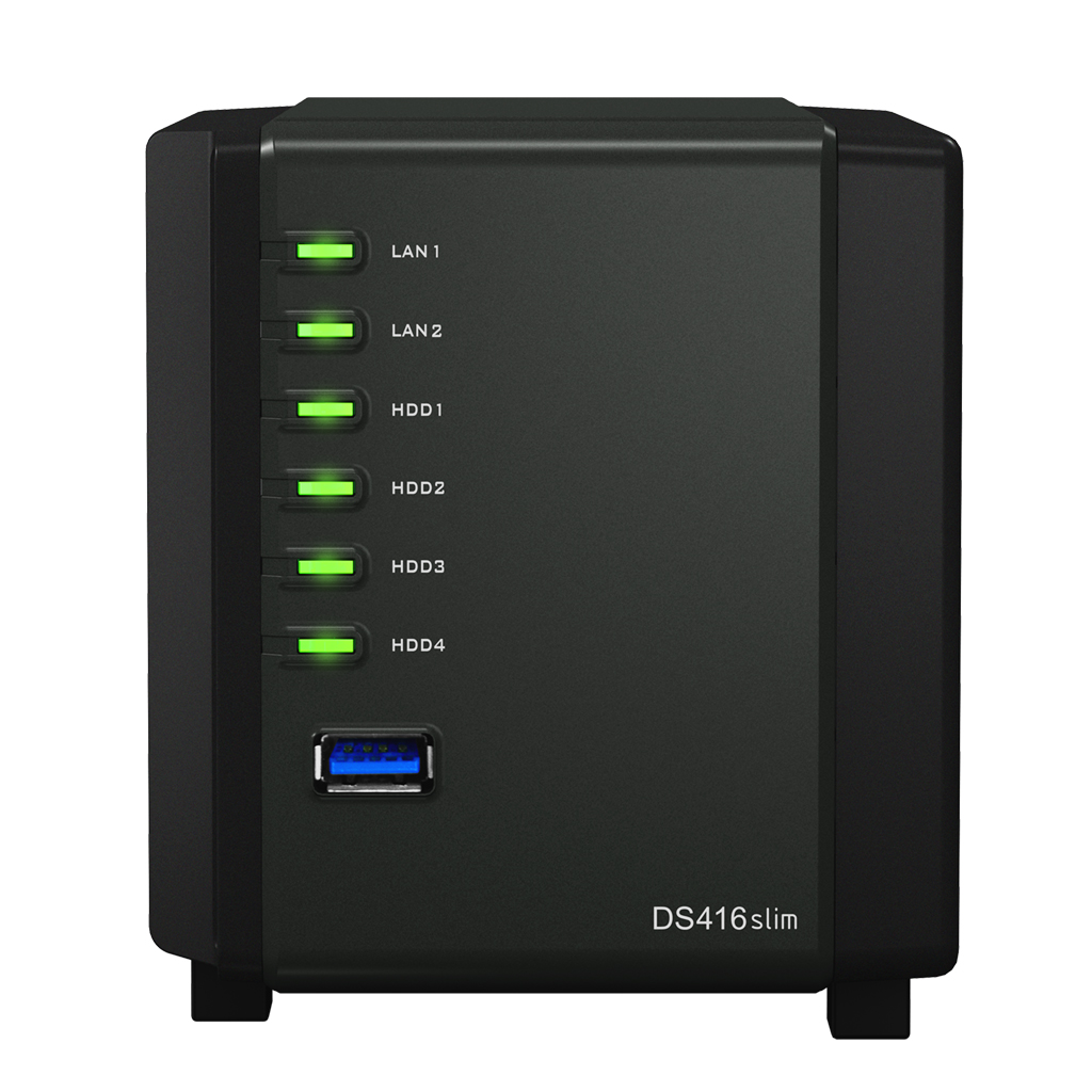 Synology DS416slim DiskStation (pouze 2.5 HDD )