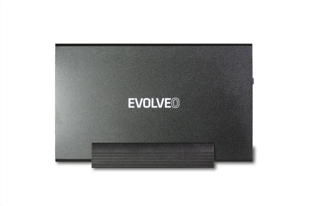 "EVOLVEO 3.5"" Stand 1, externí rámeček na HDD, USB 3.0, celohliníkový až 6TB"
