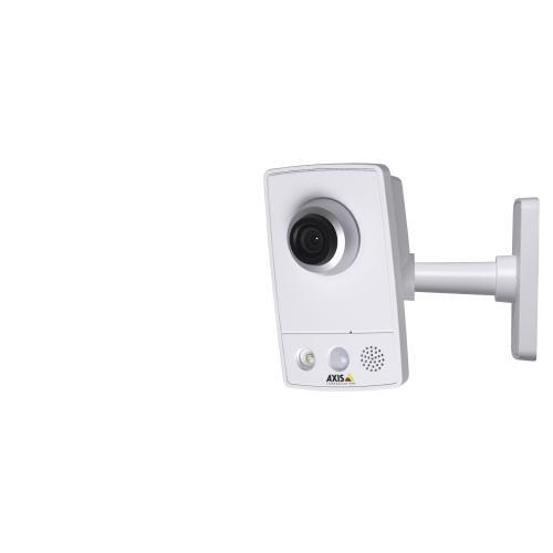 AXIS M1054, 2.9 mm Fixed lens, PoE, PIR sensor, illumination LED, HDTV 720p