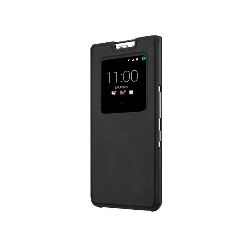 BlackBerry smart flipové pouzdro kožené pro BlackBerry Keyone, černá