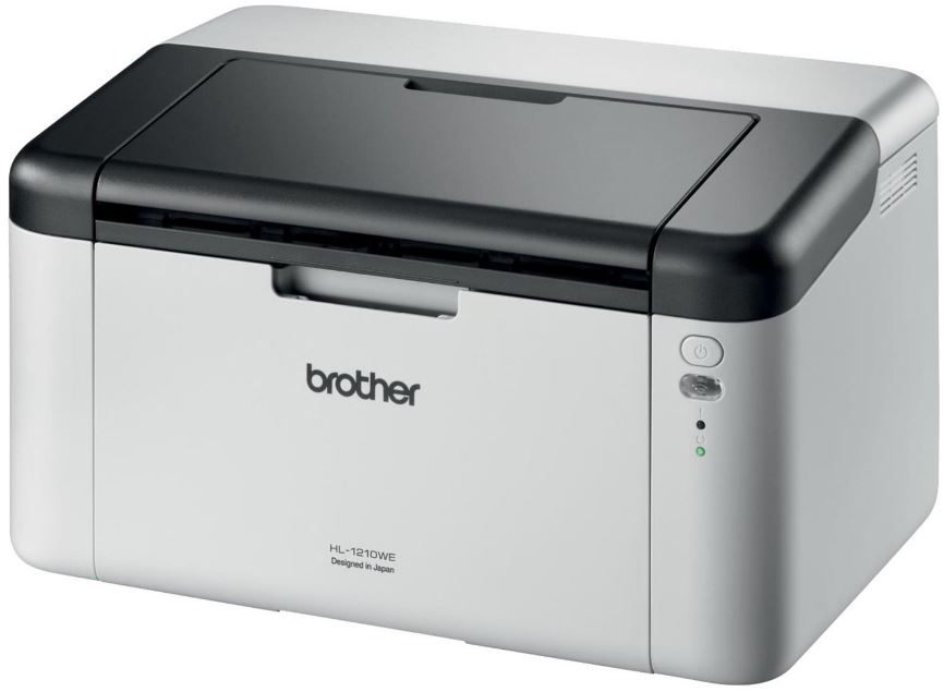 Brother HL-1210WE (20str.,HQ-1200dpi, 1MB, GDI, USB 2.0) + WiFi