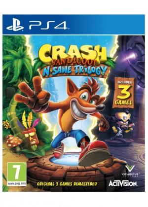 ActiVision PS4 hra Crash Bandicoot N.Sane Trilogy