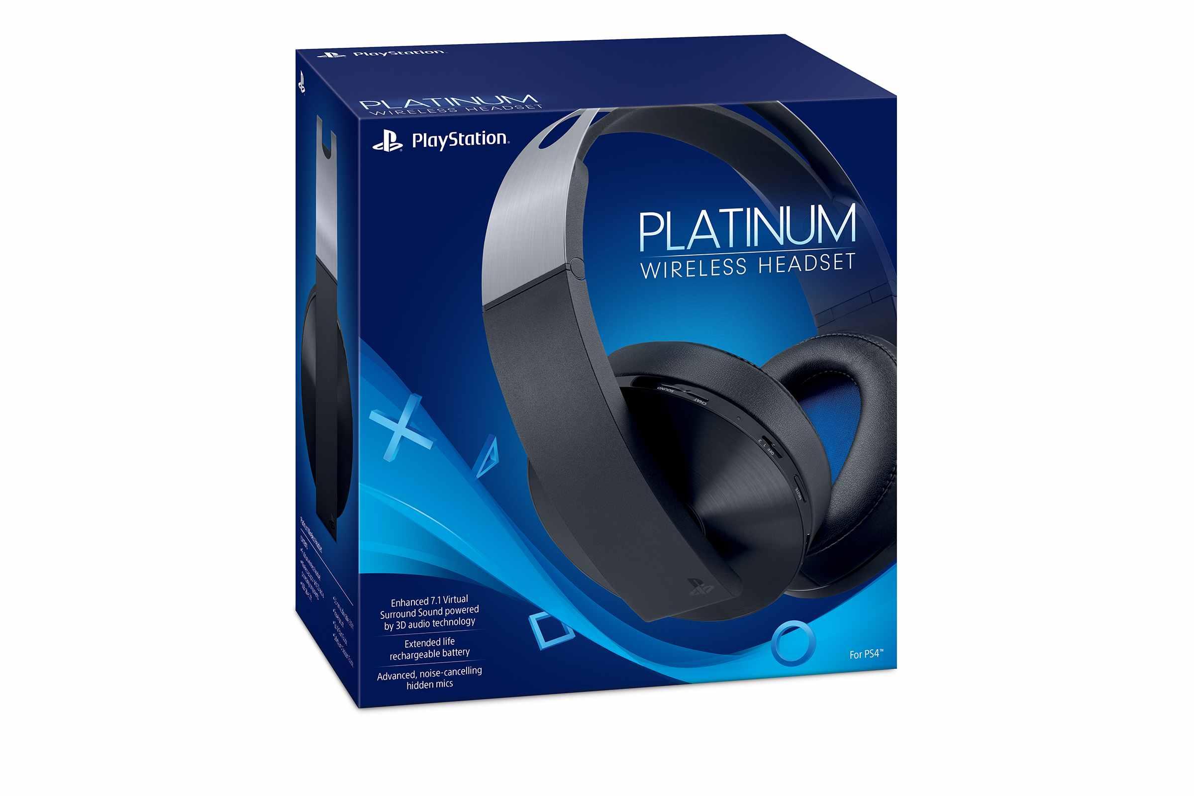 SONY PS4 Platinum Wireless Headset