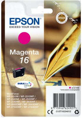 Epson Singlepack Magenta 16 DURABrite Ultra Ink