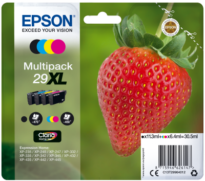 Epson Multipack 4-colours 29XL Claria Home Ink