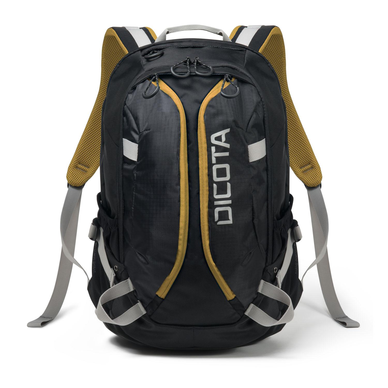 "Dicota Backpack Active 14"" - 15.6"" black/yellow"