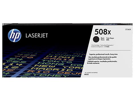 HP CF360X Toner 508X pro CLJ M552, M553, (12500str), Black