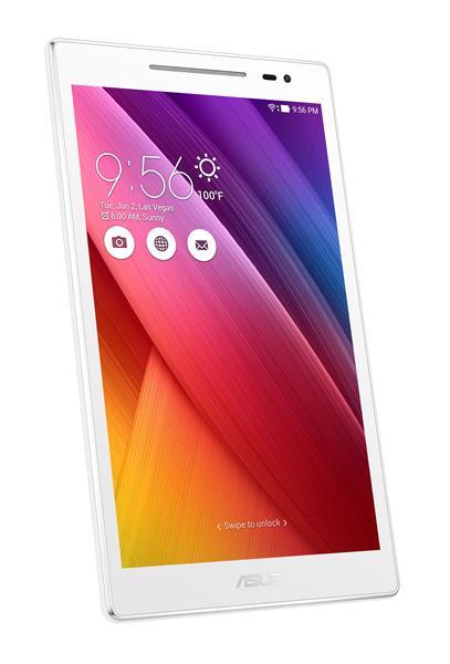 "ASUS PAD ZenPad 8.0 - Qualcomm 8916, 8"" IPS, 1280x800, 2G, 16G, WiFi, BT, LTE, Android 6.0, bílý"