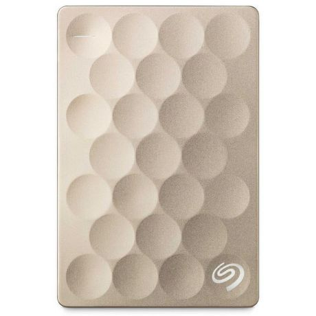 "Seagate Backup Plus Ultra Slim, 1TB externí HDD, 2.5"", USB 3.0, gold"
