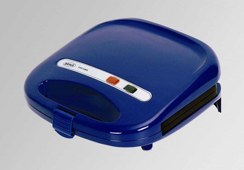Sendvičovač Bravo B 2305 trojúhleník, modrý