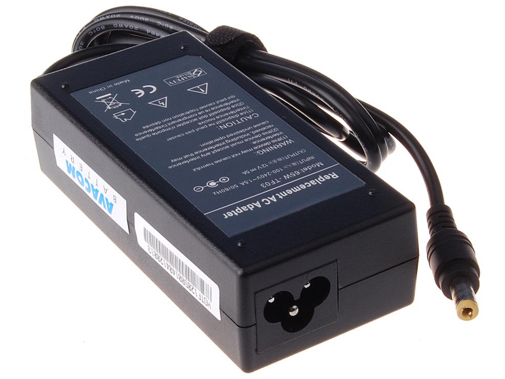 AVACOM Nabíjecí adaptér pro notebook 100-240V/12V 5A 60W pro LCD monitory 5,5x2,1mm