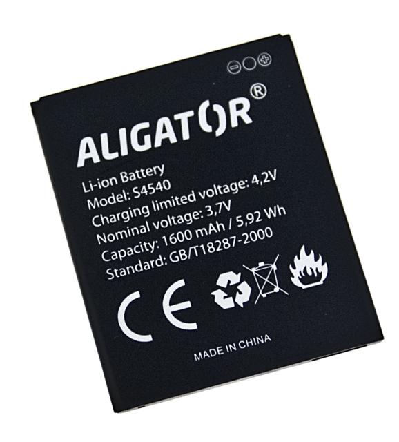 Aligator baterie S4540 DUO, Li-Ion 1600 mAh bulk