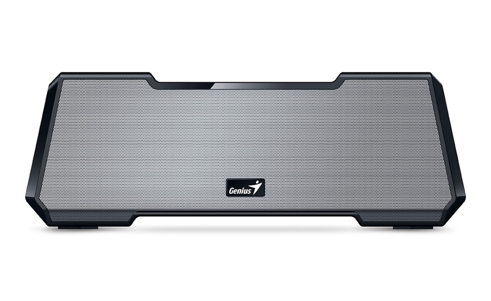 GENIUS repro MT-20/ 2.1/ Bluetooth/ dobíjecí/ 15W/ 3,5mm jack/micro SD/stříbrný
