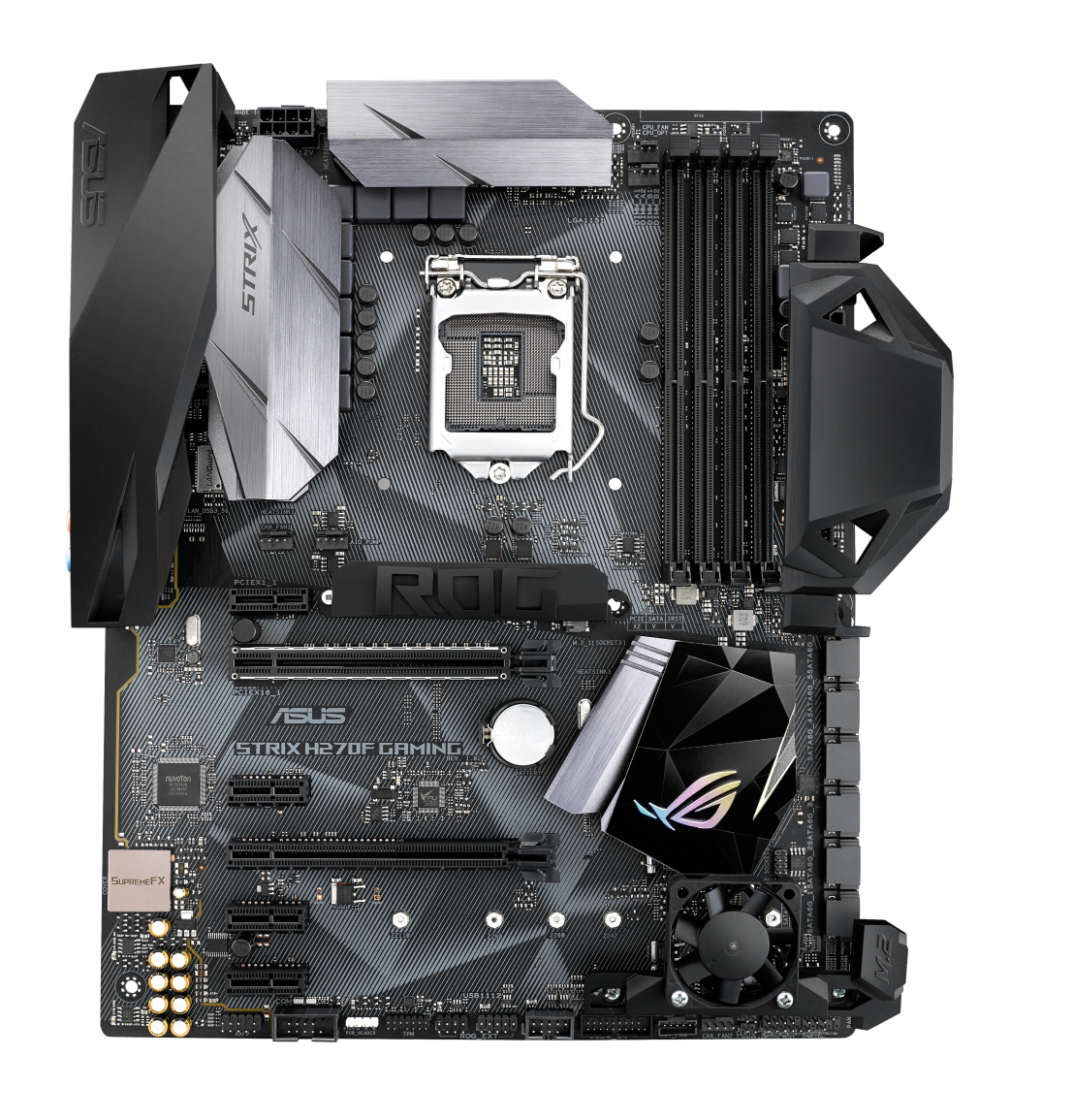 ASUS MB Sc LGA1151 STRIX H270F GAMING, Intel H270, 4xDDR4, VGA