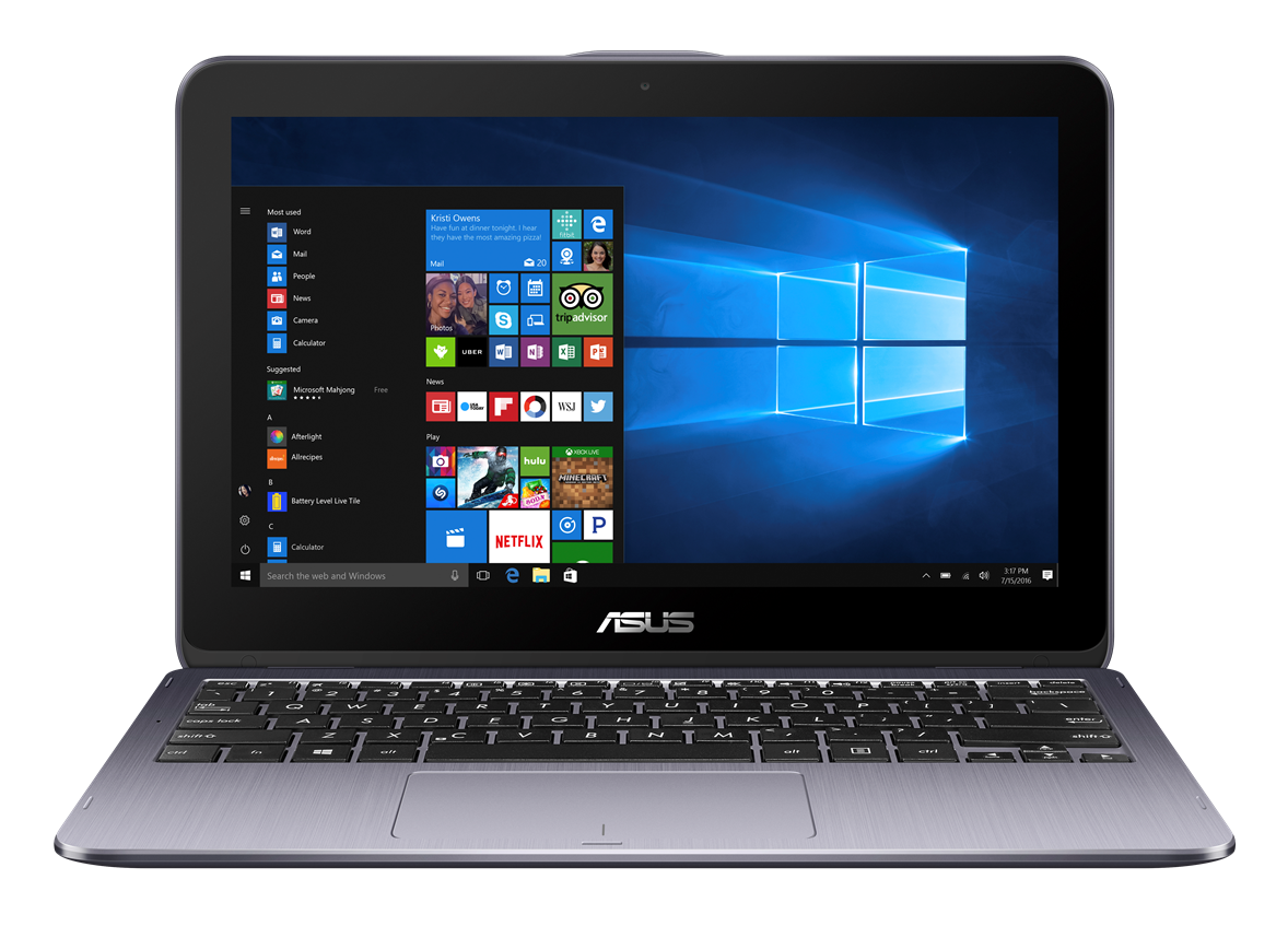 "ASUS TP203NA-BP027TS Celeron N3350/4G/32G EMMC/UMA/11,6"" IPS/HD/Touch/W10/Star Grey"