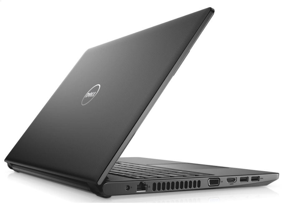 """Dell Vostro 3568 15"""" FHD i5-7200U/8GB/256GB SSD/VGA/HDMI/DVD-RW/W10P/3RNBD/Černý"""
