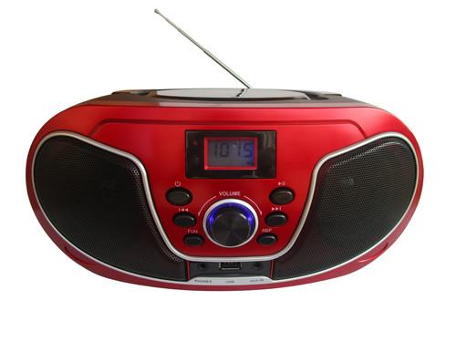 CSU 446BT/BKRD Radiopřij. s CD/MP3,USB