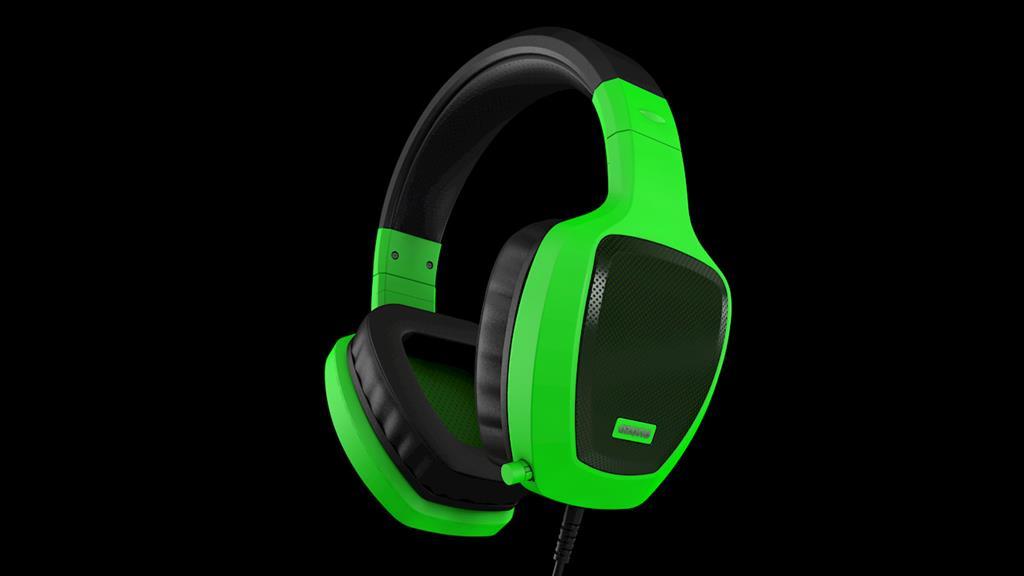 Ozone herní sluchátka RAGE Z50 zelené