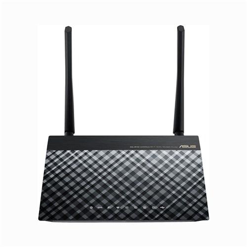 ASUS DSL-N14U B1, Bezdrátový ADSL modemový router se širokým pokrytím, více SSID a USB portem