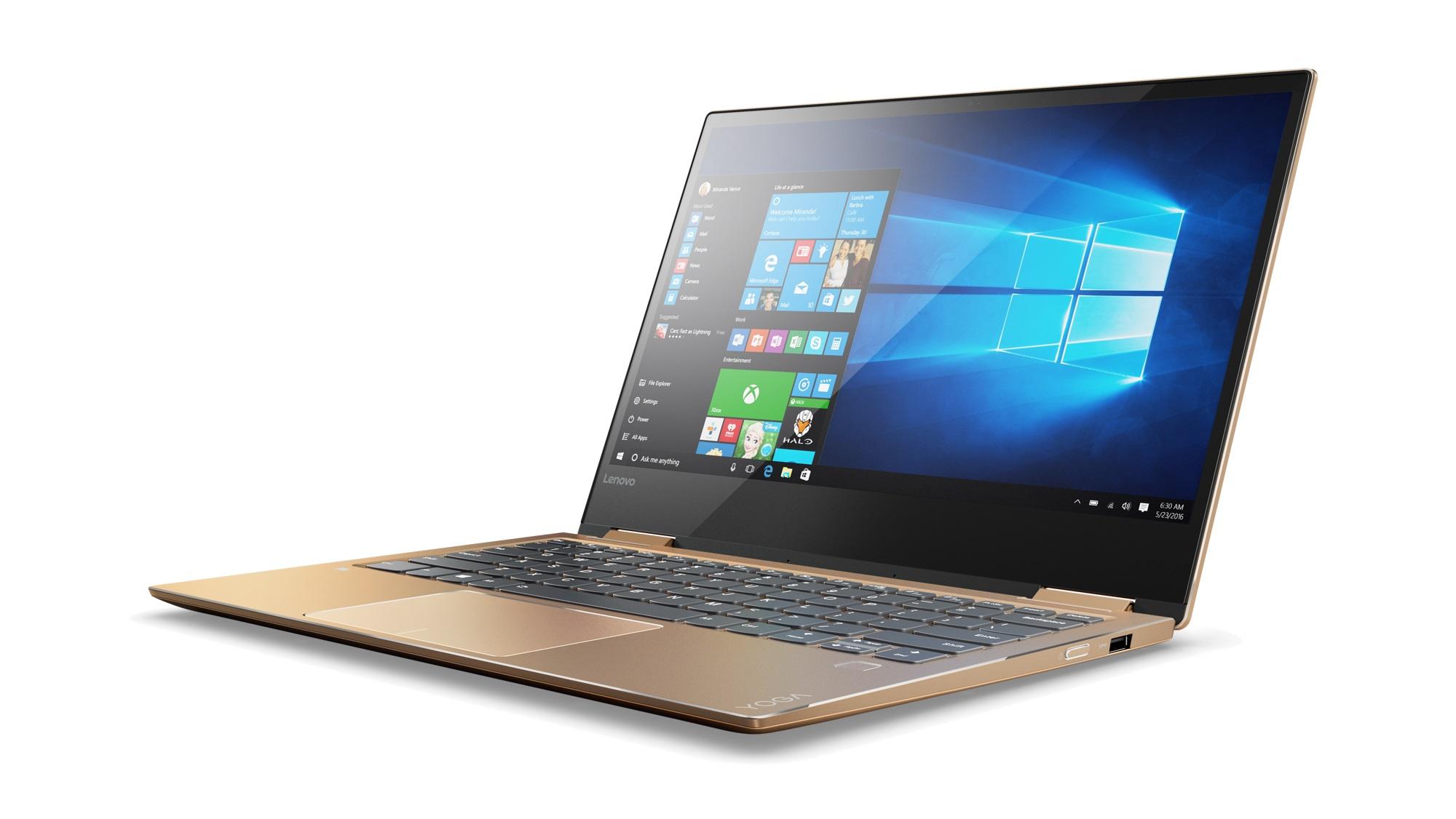 "Lenovo YOGA 720-13IKB i5-7200U 3,10GHz/8GB/SSD 256GB/13,3"" FHD/IPS/AG/multitouch/WIN10 měděná 80X60017CK"