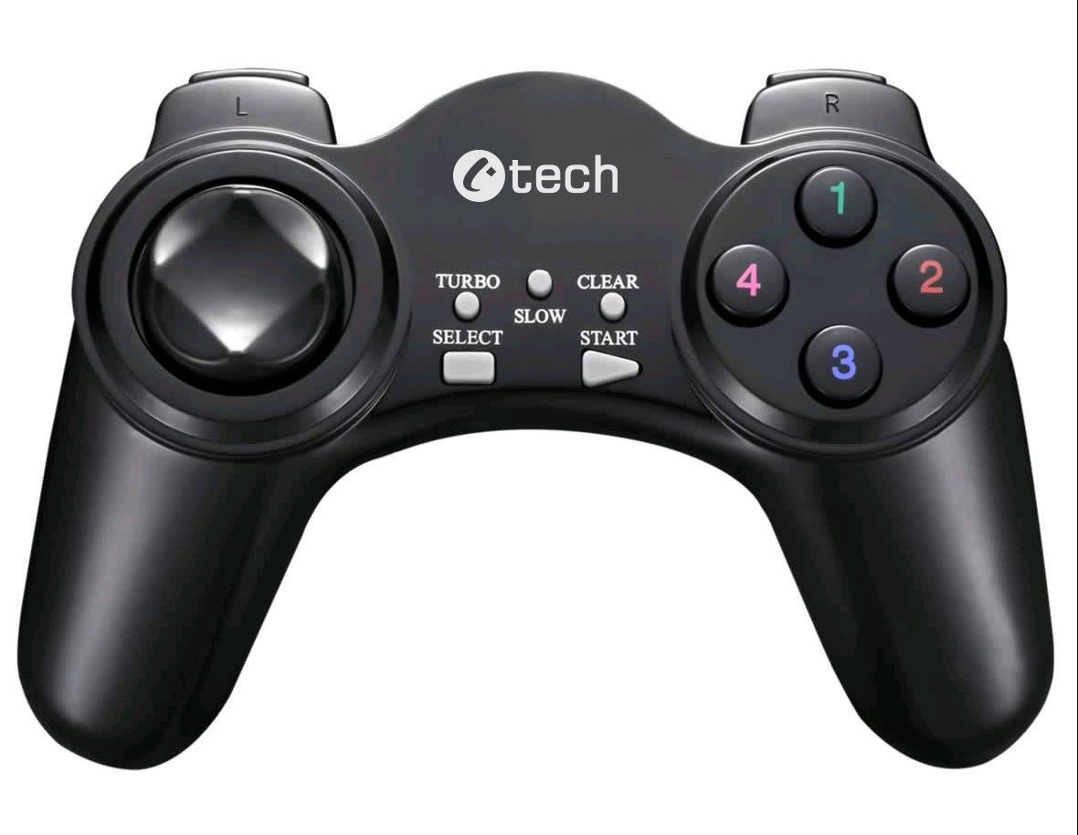 C-TECH Gamepad Nyx, 1,8m kabel, USB, 13 tlačítek