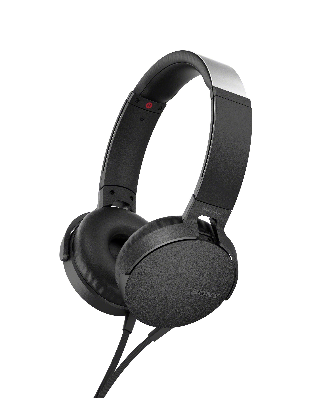 SONY MDRX-B550AP Sluchátka EXTRA BASS & DJ type - headband - Black