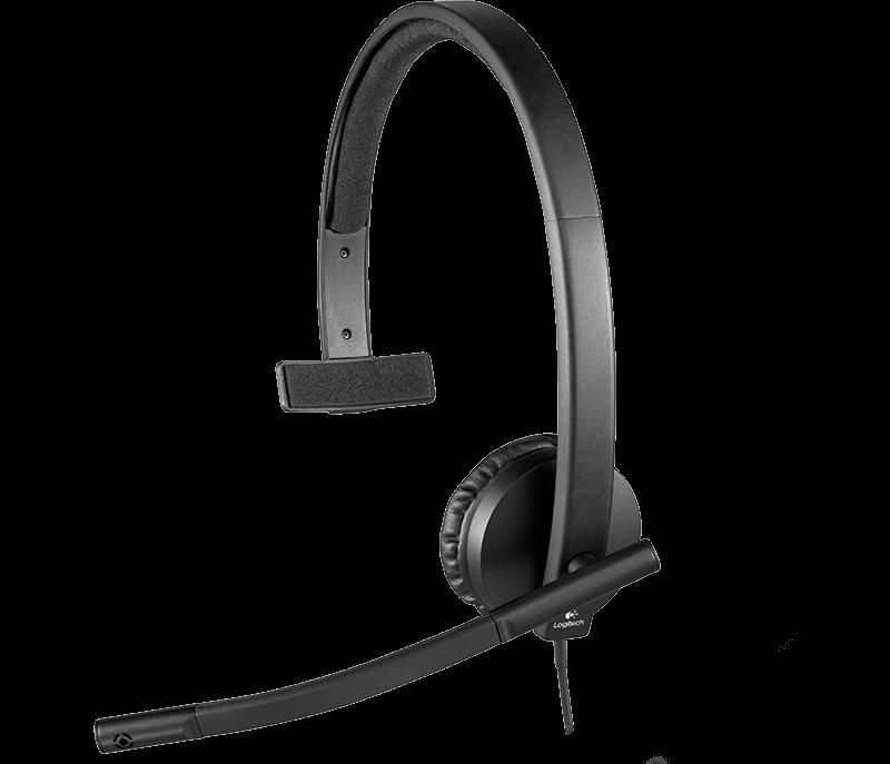 Náhl. sada Logitech mono USB Headset H570e