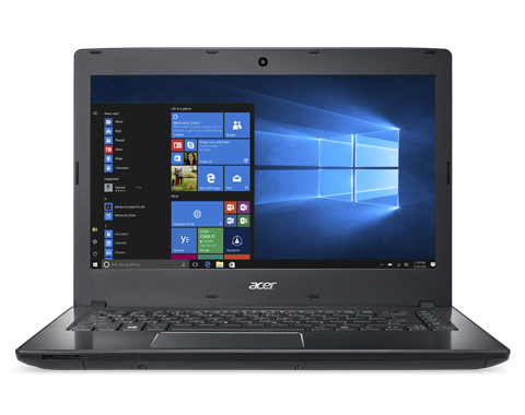 "Acer TravelMate P249-G2-M-33TD i3-7100U/4GB+N/256GB+N/DVDRW/HD Graphics/14"" HD matný/BT/W10 Pro/Black"