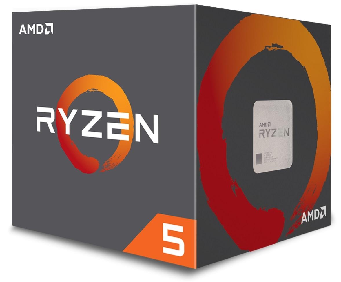 AMD cpu Ryzen 5 1400 Box AM4 (4core, 8x vlákno, 3.2GHz / 3.4GHz, 8MB cache, 65W) s chladičem Wraith Stealth 65W