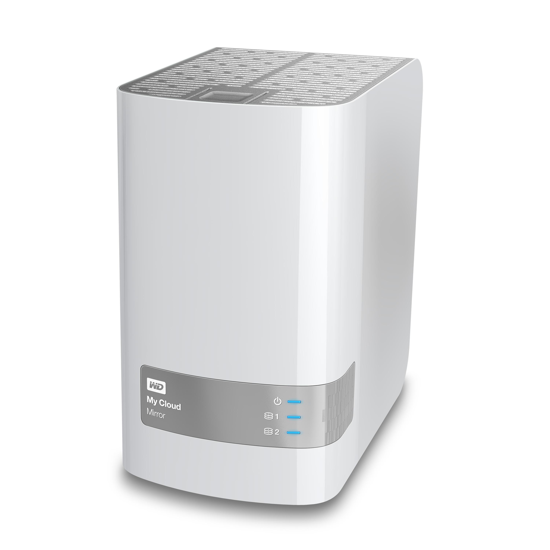 WD My Cloud 8TB (2x4TB) Mirror Personal Cloud Storage LAN RAID, USB 3.0