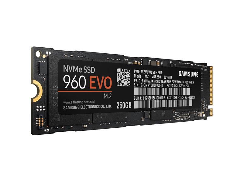 Samsung SSD 960 EVO 250GB M.2 NVMe 1.1