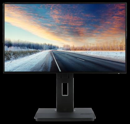 """Acer LCD BE240Ybmjjpprzx, 60cm (23,8"""") IPS LED 1920x1080/ 100M:1/6ms/250cd/m2/2xHDMI, DP, miniDP, USB 3.0 /repro/ Black"""