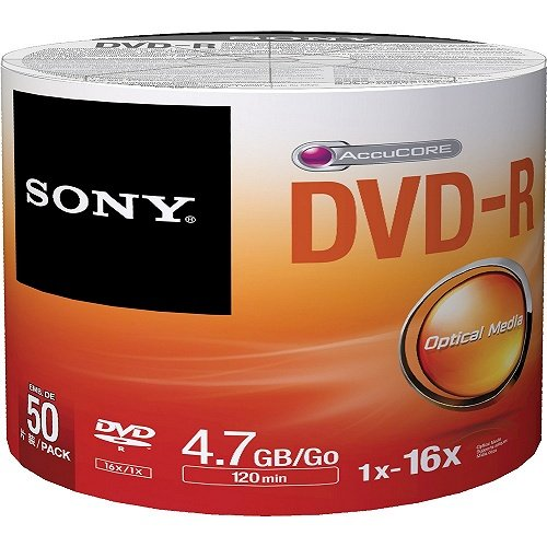 SONY 50 x DVD-R 4,7GB Bulk