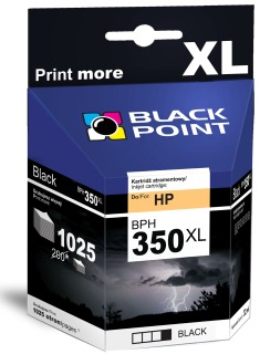 Ink Black Point BPH350XL | Black | 32 ml | 1025 p. | HP CB336