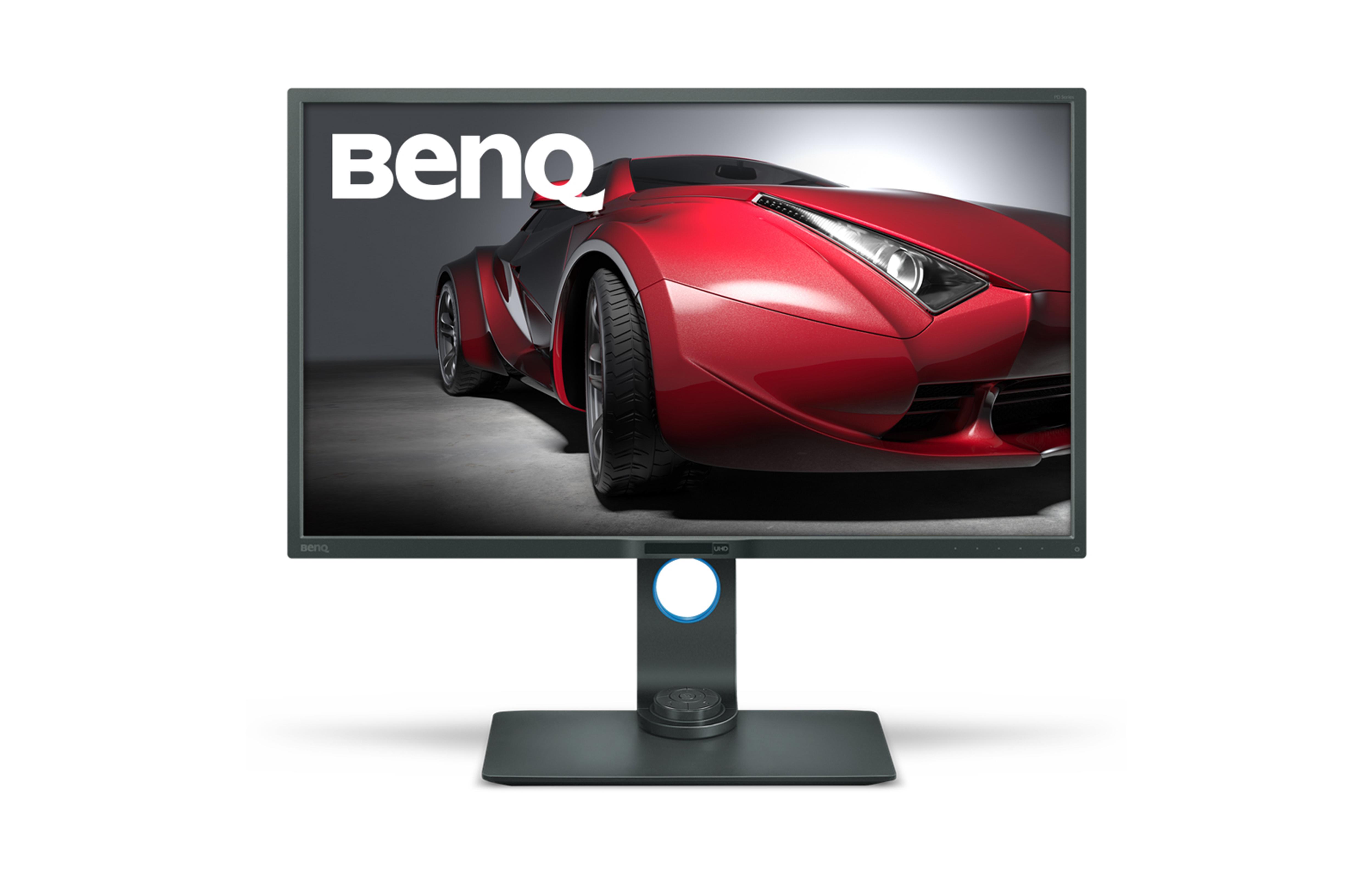 BenQ LCD PD3200U 32'' wide/IPS LED/4K 3840x2160/4ms/HDMI/DP/mDP/repro/pivot/Flicker-free/Low Blue Light