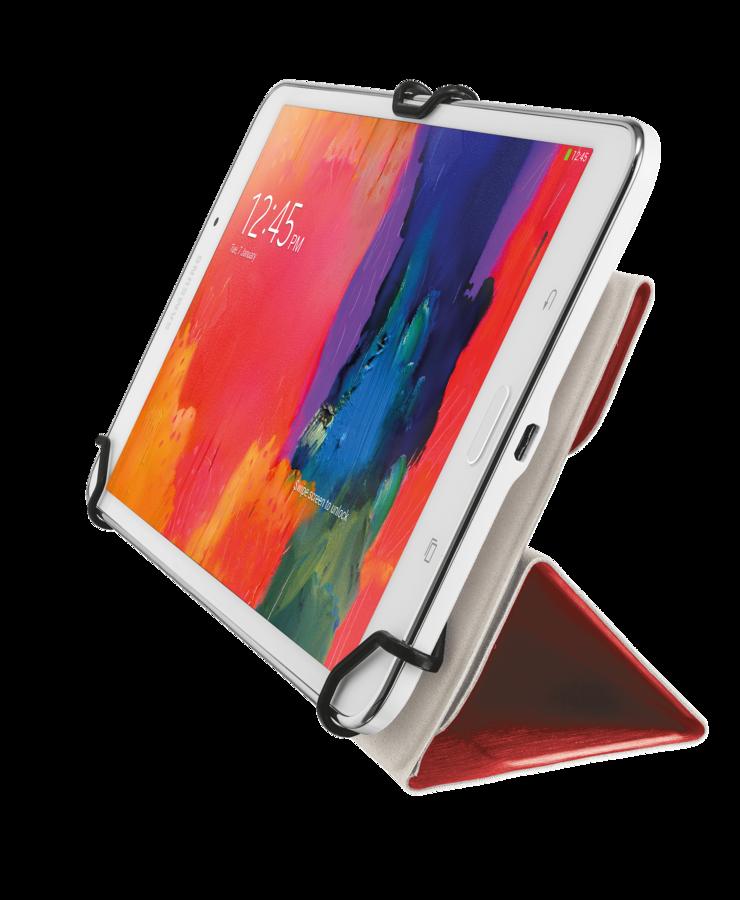 "URBAN REVOLT Pouzdro na tablet AEXXO - Universal Folio Case for 7-8"" tablets - red"